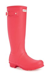 Hunter Women's 'Original Tall' Rain Boot Bright Coral