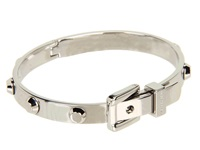 Michael Kors Astor Buckle Bangle Silver Bracelet