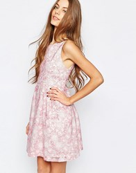 Paul And Joe Paul And Joe Sister Floral Organza Prom Dress In Pink Pink