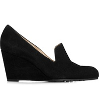 Lk Bennett Bertha Round Toe Wedges Bla Black