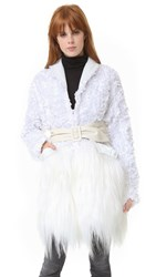 Rodarte White Coat