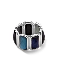 Wonderland Quartz And Mother Of Pearl Pyrite Brick Ring Ippolita Silver