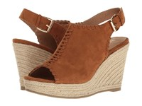Report Delfina Dark Tan Women's Wedge Shoes Brown
