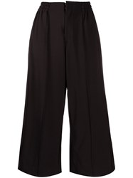 Y 3 Wide Leg Cropped Trousers 60