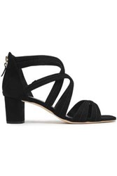Sandro Woman Suede Sandals Black