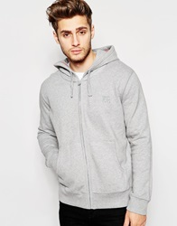 French Connection Zip Thru Hoodie Grey