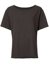 Cityshop Round Neck T Shirt Grey