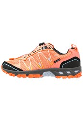 Cmp F.Lli Campagnolo Atlas Wp Hiking Shoes Peach Fluo Anice Orange Fluo Apricot