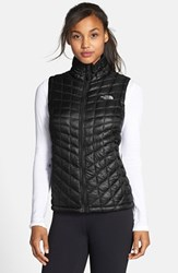 The North Face Women's Thermoball Primaloft Vest Tnf Black