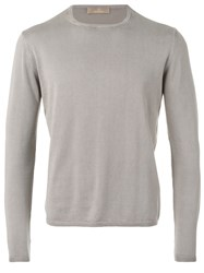 Cruciani Knitted Sweater Grey