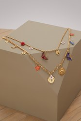 Dolce And Gabbana Mix Necklace