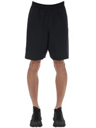 Under Armour Woven Graphic Wordmark Nylon Shorts Black