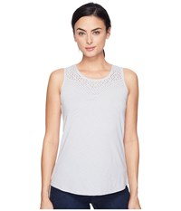 Aventura Clothing Pilar Tank Top High Rise Women's Sleeveless Silver