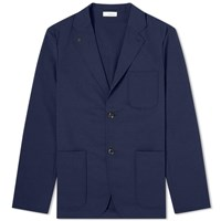 Nanamica Alphadry Club Jacket Blue