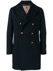 Sealup Double Breasted Coat Blue