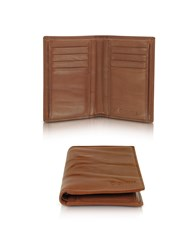 Gherardini Wallets Pleated Leather Men's Vertical Wallet