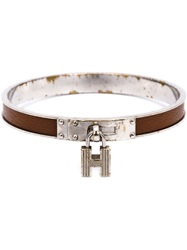 Hermes Vintage 'Kelly' Bracelet Brown
