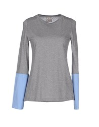 Douuod Topwear T Shirts Women Grey