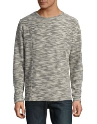 Nana Judy Textured Crewneck Sweater Grey