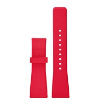 Michael Kors Access Bradshaw Silicone Smartwatch Strap Female Red