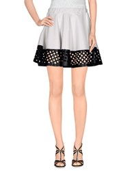 Mariuccia Skirts Mini Skirts Women White