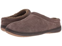 Tempur Pedic Arlow Charcoal Men's Slippers Gray