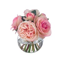 Diane James Small Pink Rose Bouquet