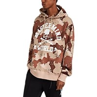 Mastermind Japan Logo Camouflage Cotton French Terry Hoodie Black