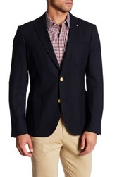Gant The Club Tailored Fit Wool Blazer Blue