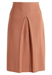 United Colors Of Benetton Maxi Skirt Camel