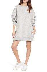 Tommy Jeans X Gigi Hadid Sweatshirt Dress Light Grey Htr