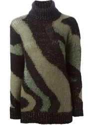 P.A.R.O.S.H. Turtle Neck Sweater Green