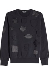Alexander Mcqueen Cotton Sweatshirt With Patches
