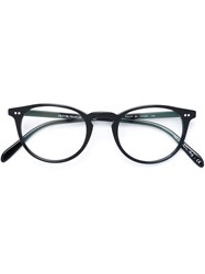 Oliver Peoples 'Riley' Glasses Acetate Black
