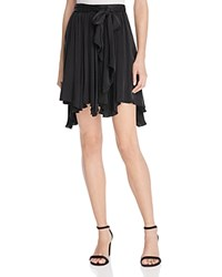 Ella Moss Asymmetric Hem Skirt Black