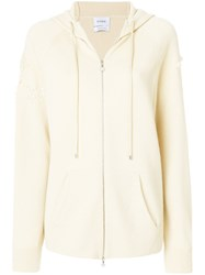 Barrie Cashmere Hoodie Nude And Neutrals