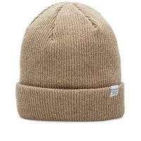 Norse Projects Classic Beanie Brown