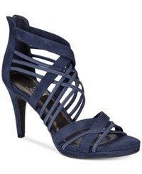 Impo Suki Dress Sandals Women's Shoes Ink Blue