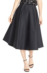 Tracy Reese A Line Midi Length Skirt Black