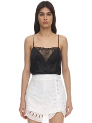Alice Mccall Ethereal Lace Camisole Top Black