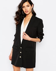 Supertrash Jomen Sharp Boyfriend Blazer Black