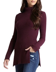 Bcbgeneration Fitted Tee Merlot Combo