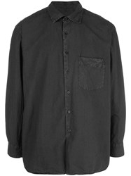 Casey Casey Weathered Shirt Grey