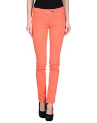 Balenciaga Denim Pants Coral