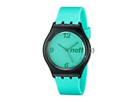 Neff Typhoon Watch Mint Black Watches Green