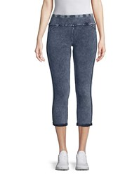 Marc New York Stretch Cotton Cropped Jeggings Navy