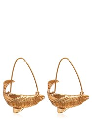 Givenchy Pisces Earrings Gold