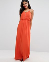 Girls On Film Maxi Dress Red