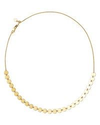 Moon And Meadow Disc Choker Necklace In 14K Yellow Gold 16 100 Exclusive