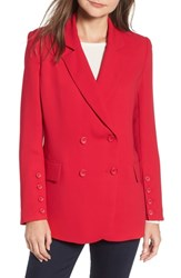 Chelsea 28 Chelsea28 Button Detail Jacket Red Lipstick